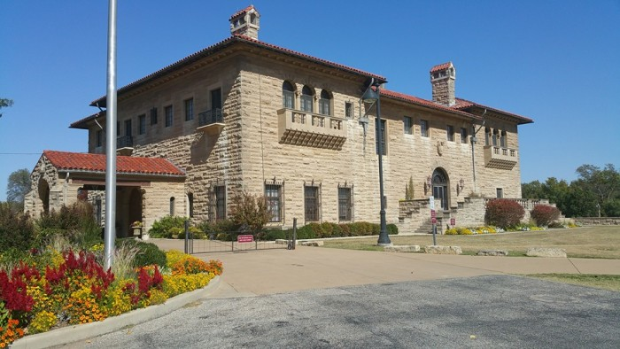 23. Tour Marland Estate Mansion in Ponca City.
