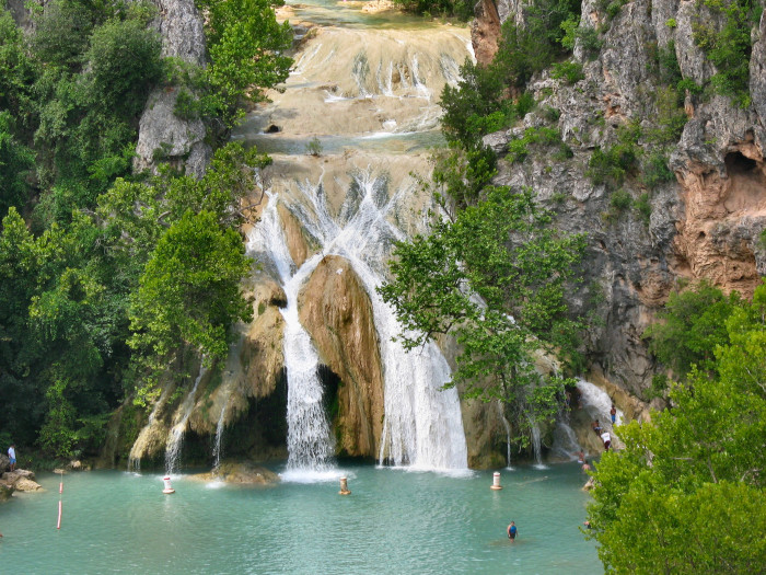 15. And visit the tallest waterfall in the state...Turner Falls stands at 77 ft. tall.