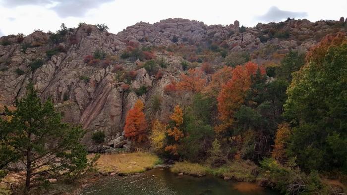 6. Take a day trip to the Wichita Mountains Wildlife Refuge.
