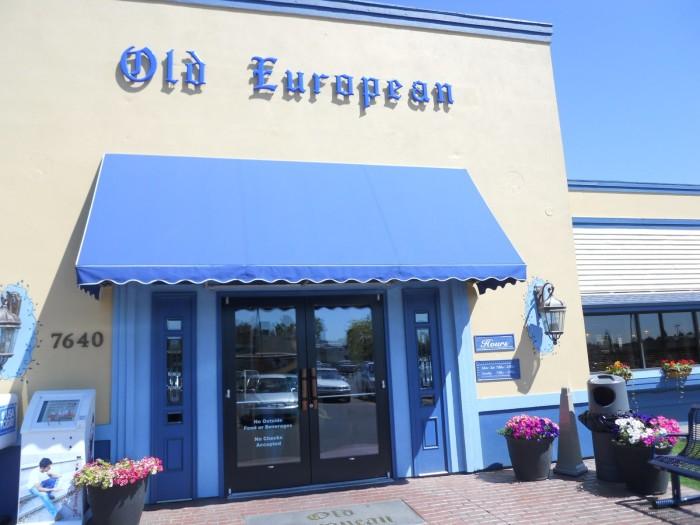 9. Old European, Spokane