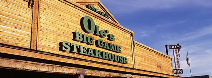 10. Ole's Big Game Steakhouse, Paxton
