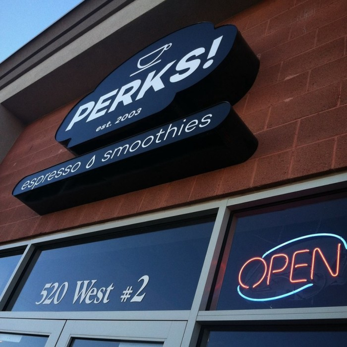 12. Perks! Espresso and Smoothies, St. George