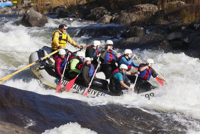 8. You're from West Virginia? I was there once to go rafting. Have you ever been?
