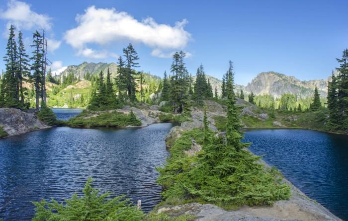 2. Rampart Lakes