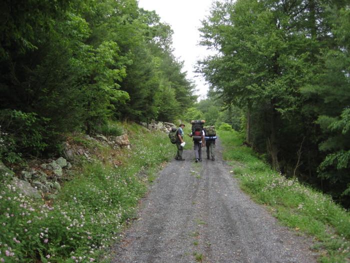 6. Its hiking trails