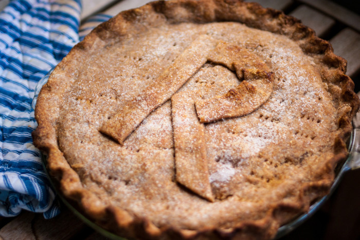 7. Without all the hustle and bustle of the city, there is more time to bake yourself a pie and even put your initial on it so everyone in the house knows to keep their paws off.