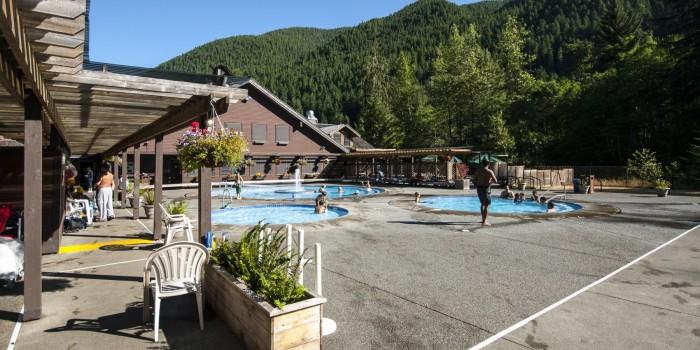 1. Sol Duc Hot Springs