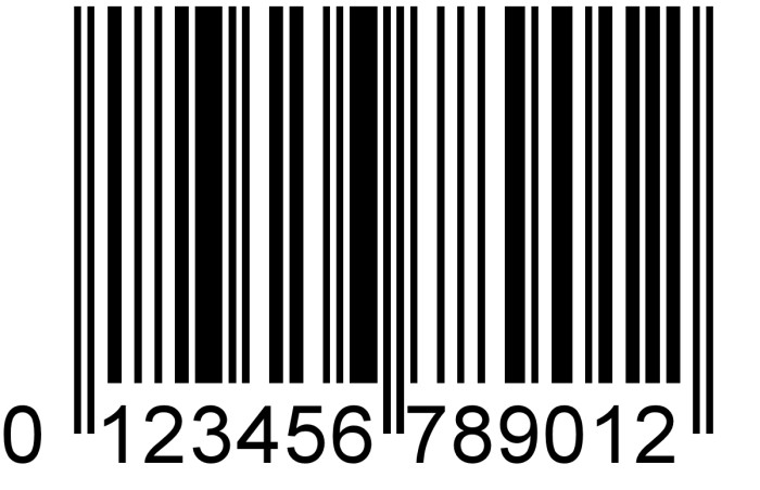 12. The barcode and computer function Ctrl+Alt+Del.