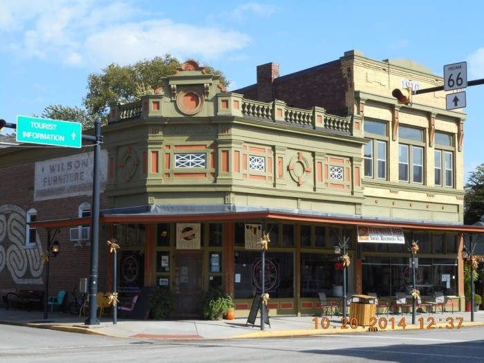 9. Sara's New Harmony Way Coffee House & Wine Bar (500 Church St, New Harmony)