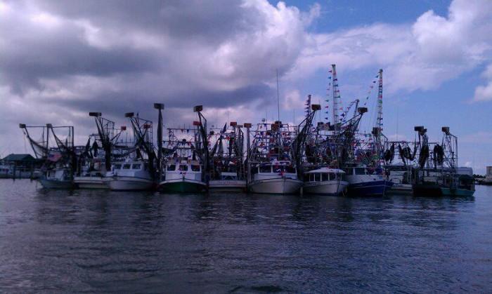 1. Clint Guidry, Louisiana Shrimp Association