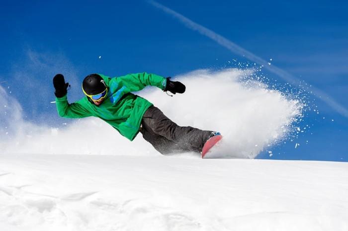 5. Skiing