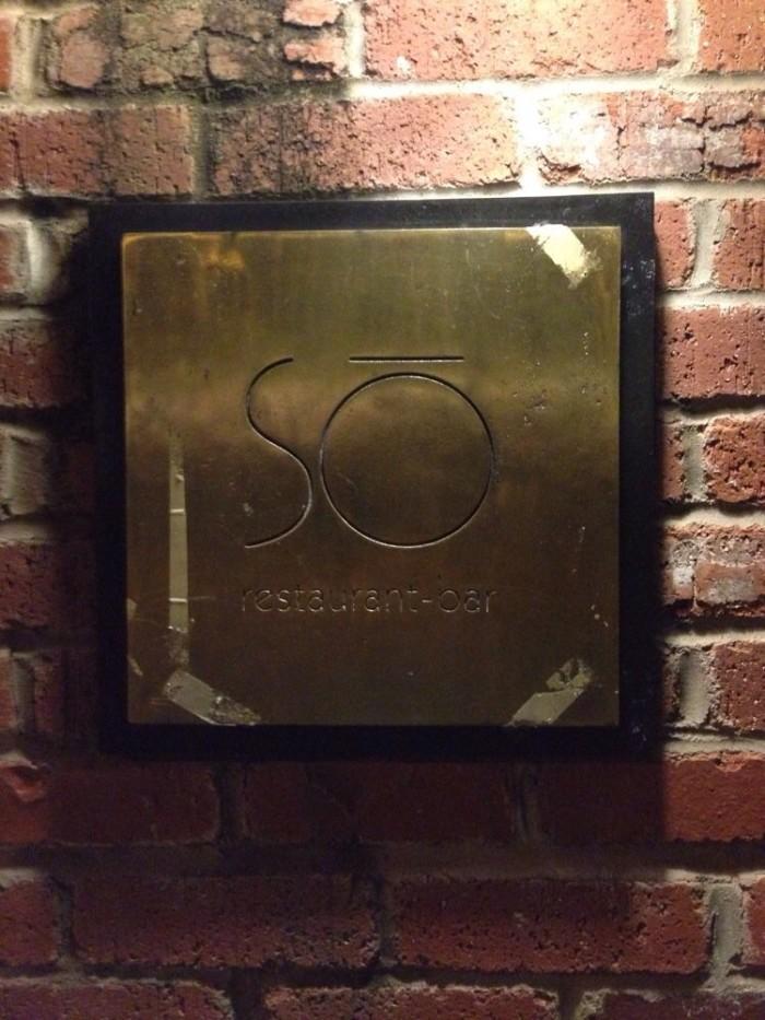 4. So Restaurant
