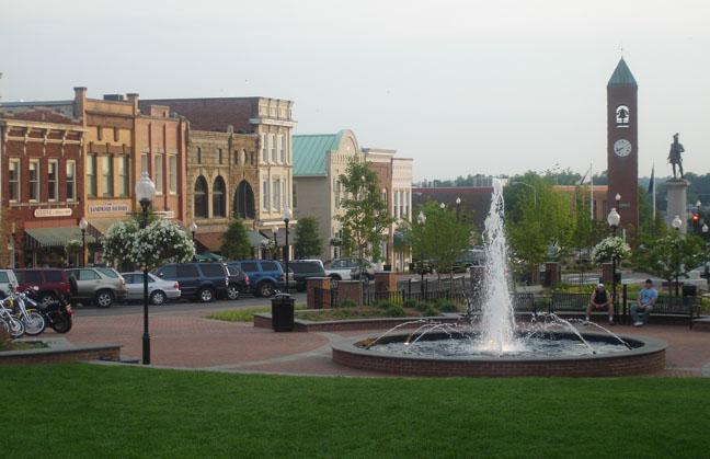 20. Spartanburg, SC
