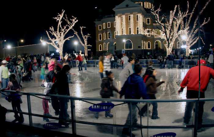9) Holiday Trail of Lights (Marshall, Kilgore, and Jefferson)