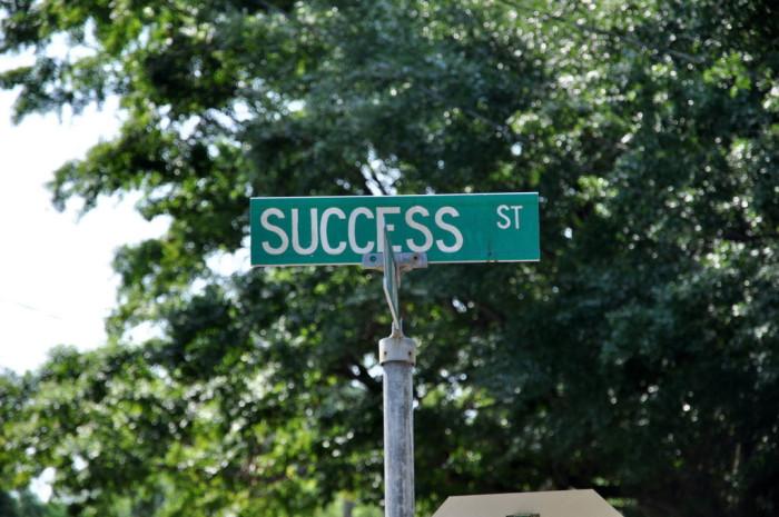 3. Success Street in North Charleston, SC