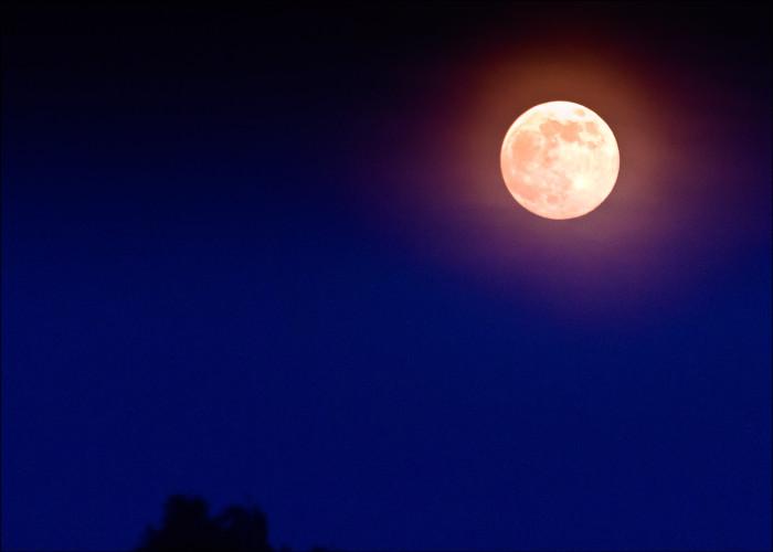 5. Super Moon Over Rogers