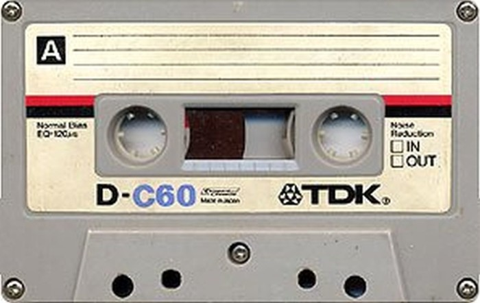 5. We taped music from the radio.