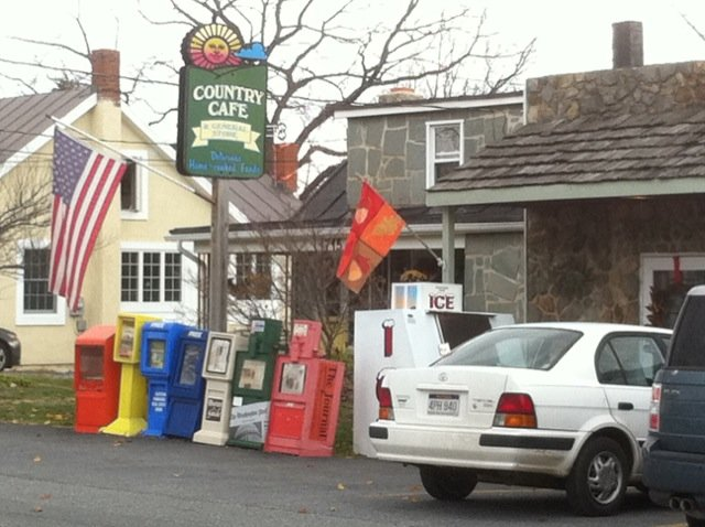 1. The Country Cafe and General Store in Harpers Ferry