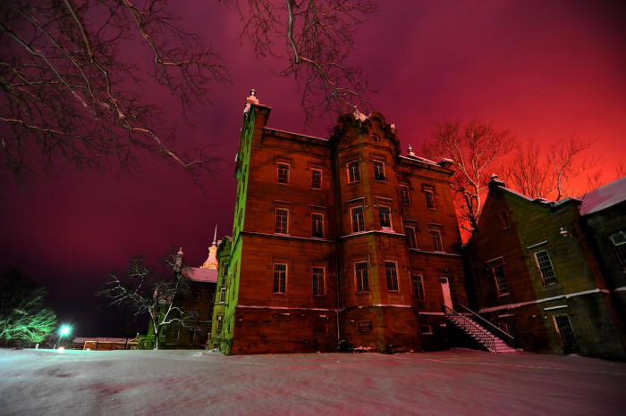 6. Look at this shot of the Trans-Allegheny Lunatic Asylum