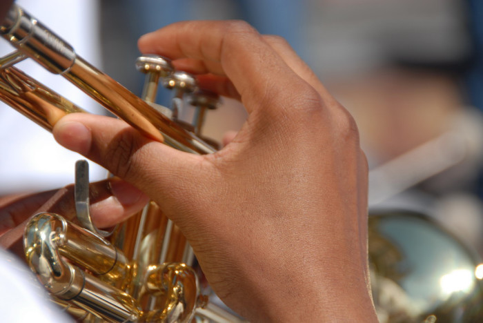 6. Growing up in a small town means fewer people to compete against for the position of 'first chair' in the school band.