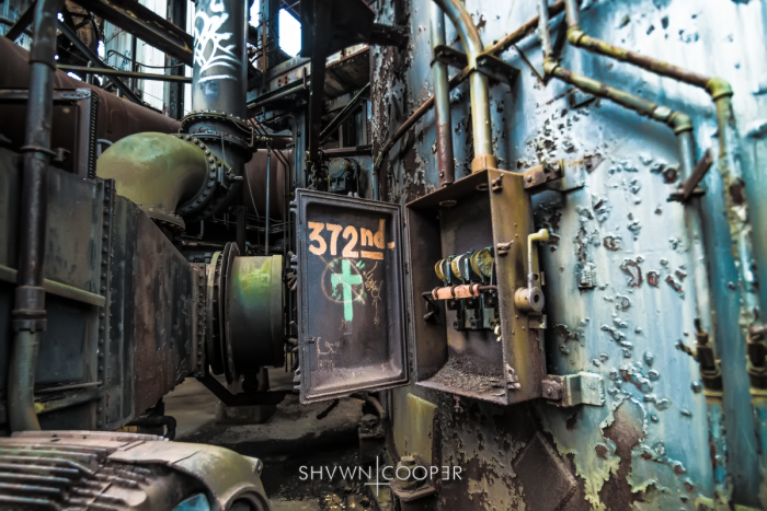 An Abandoned Relic of the Pennsylvania Steel Industry