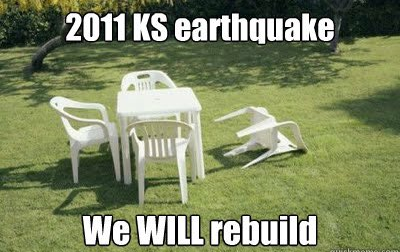 Prior to 2015, Kansas would only see an average of one to two earthquakes per year (sometimes even bi-yearly).