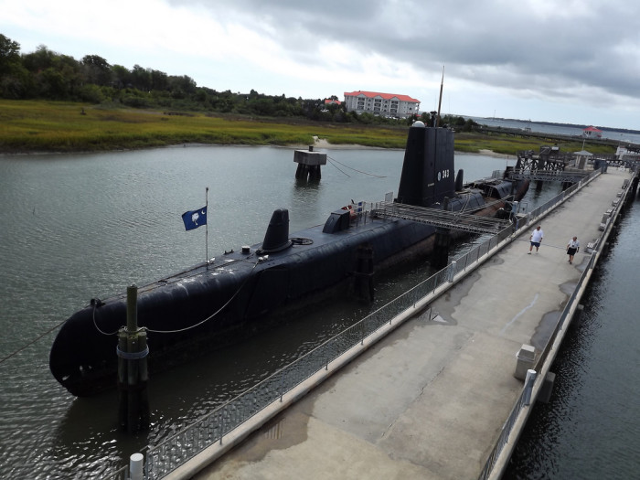 16. Tour a decommissioned submarine in Mount Pleasant.
