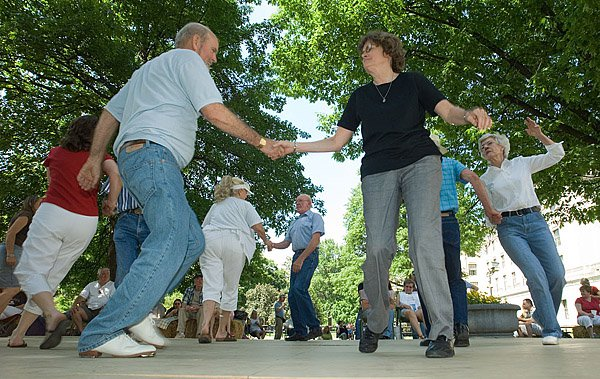 13. Play, dance, or just watch at the Vandalia Gathering in Charleston.