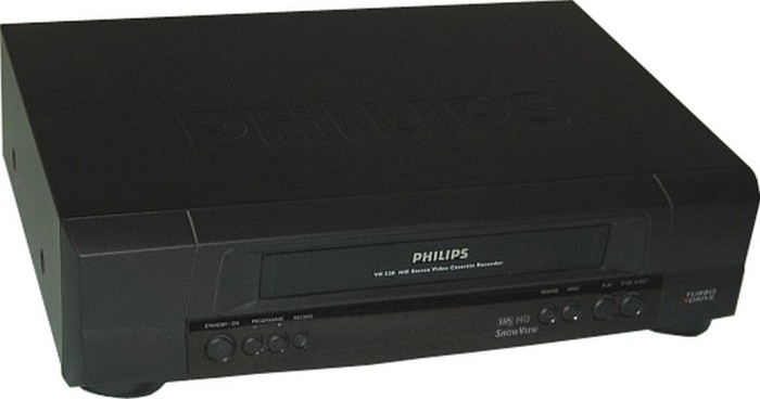 4. We learned how to work with VCRs.