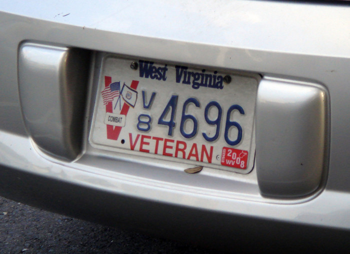 3. Many West Virginia residents are veterans.