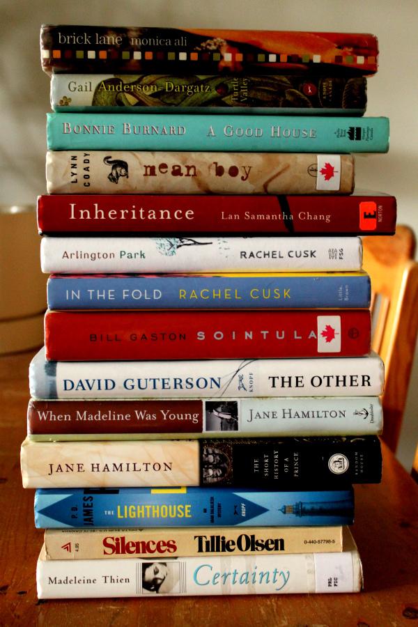 4. We read books.