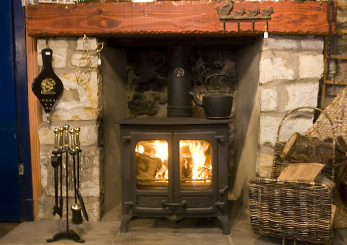 12.They like the smell of a wood burning stove.