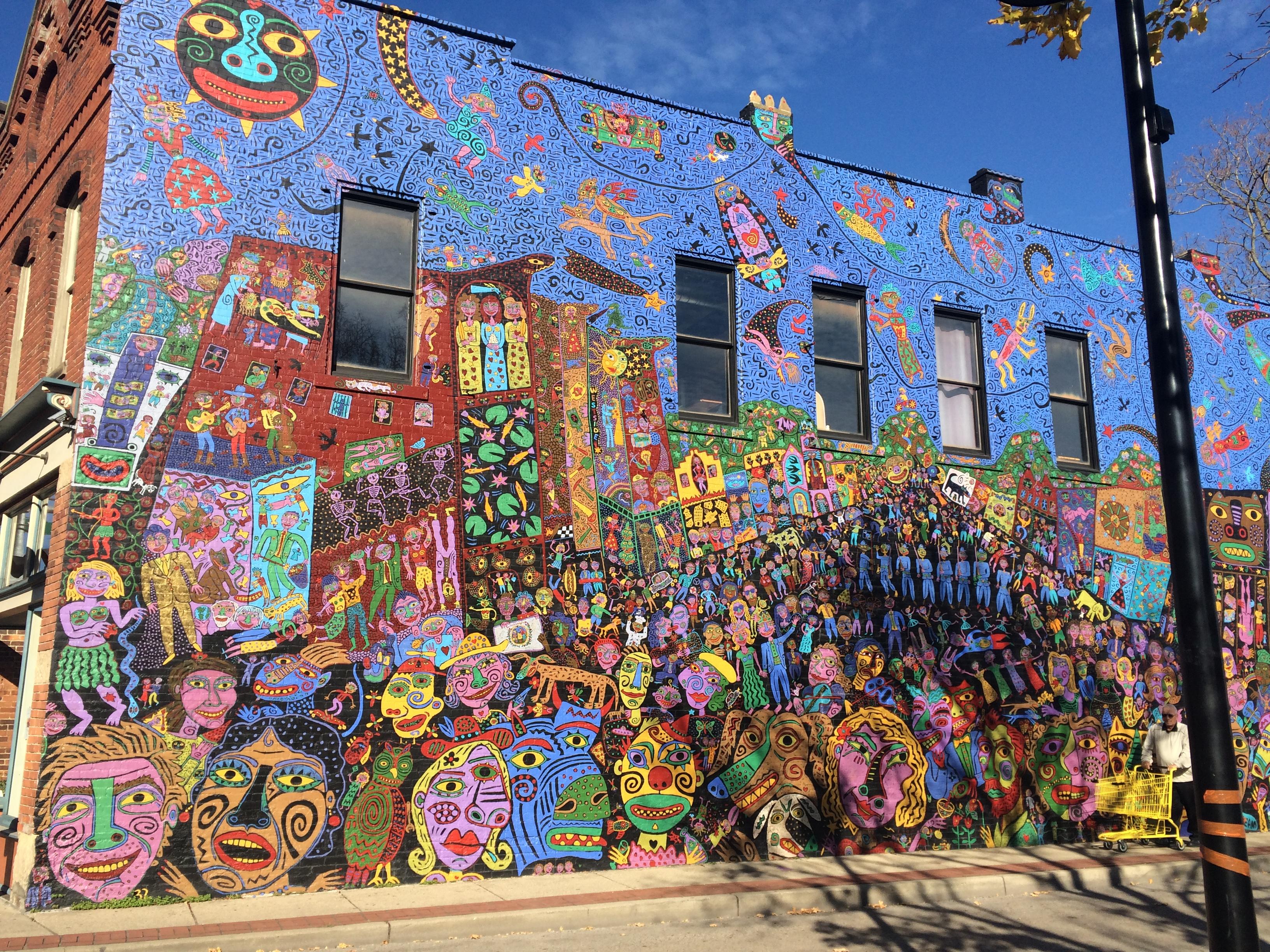 11 Stunning Public Murals In West Virginia