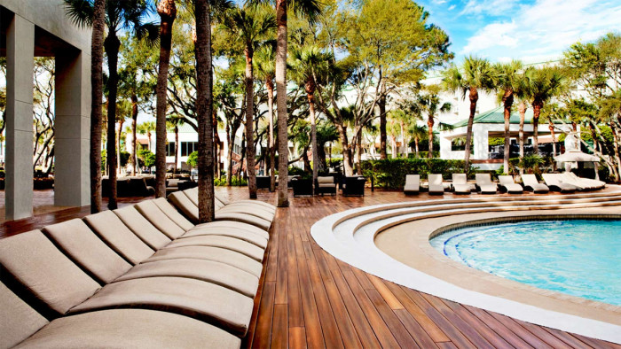 22. Treat yourself to a luxury weekend at the Westin Spa and Resort on Hilton Head Island.