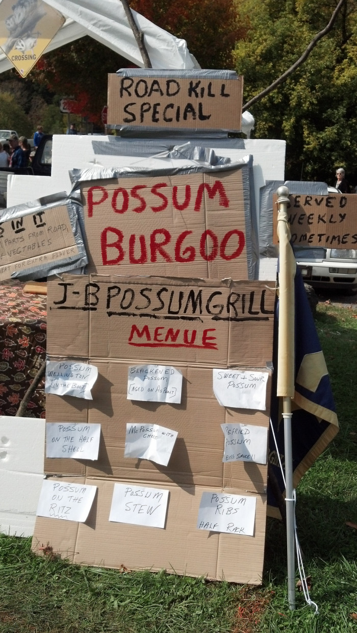 11. The West Virginia Roadkill Cook-Off