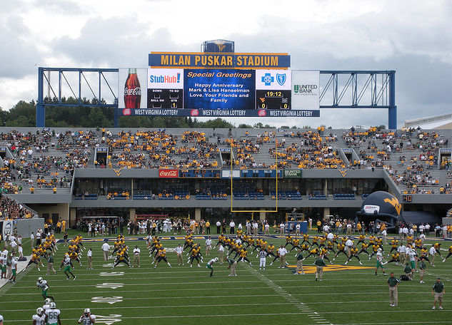 11. Take in a WVU or Marshall game.