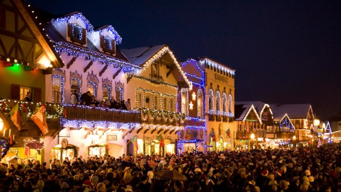4. Winter festivals are especially magical.
