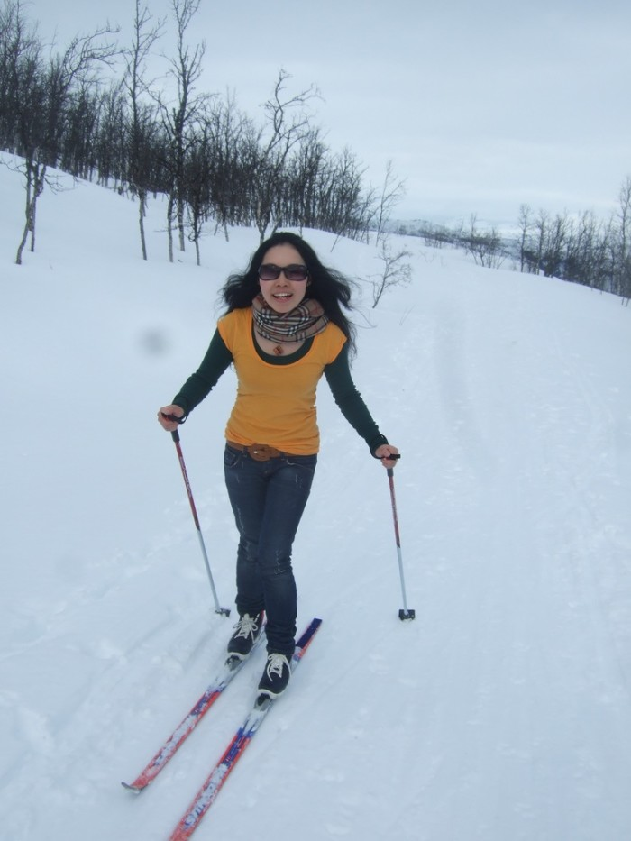 6. I can't wait to go skiing!
