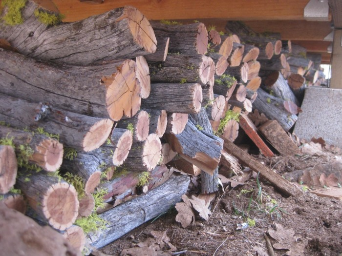 10. Finally, all this firewood I chopped will go to good use.