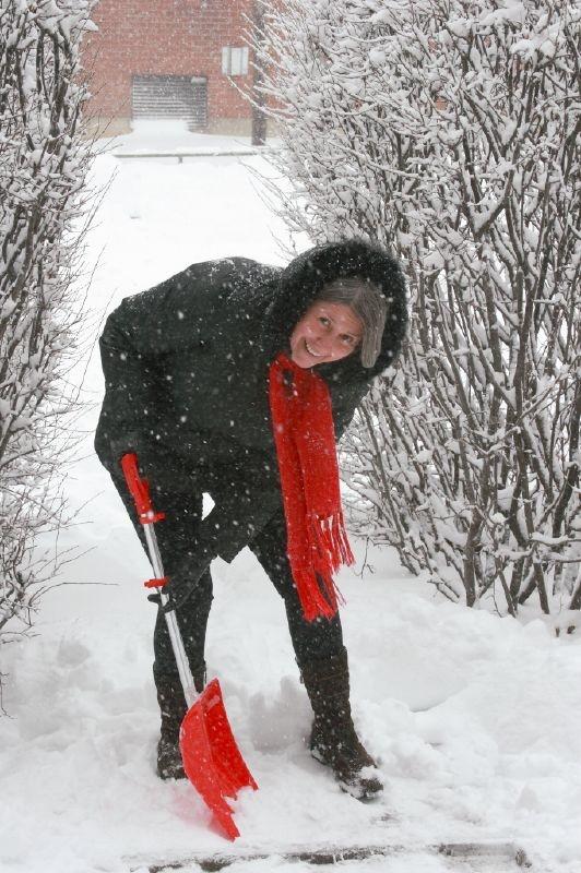 5. I hope I can find my snow shovel!