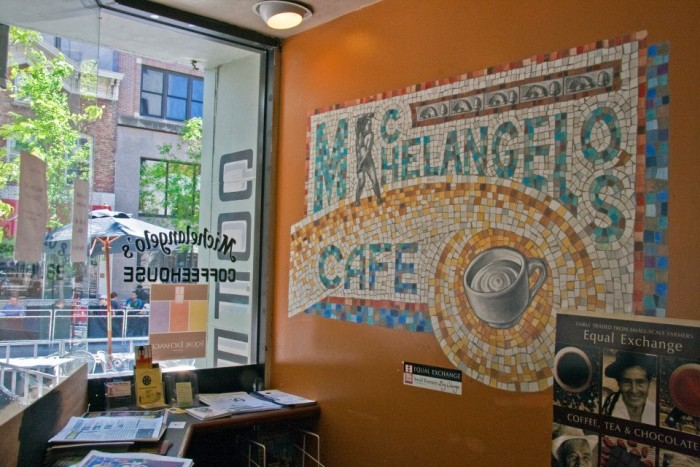 4. Michelangelo's Coffee House