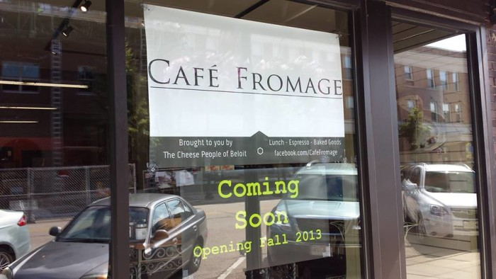 7. Cafe Fromage