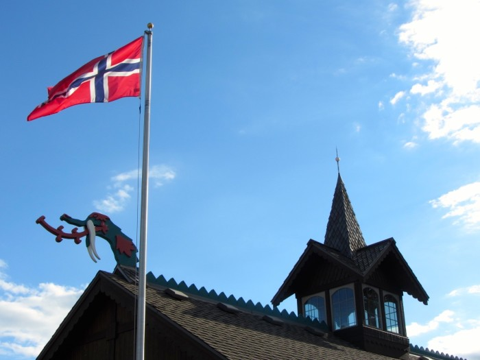 5. Norwegian pride everywhere