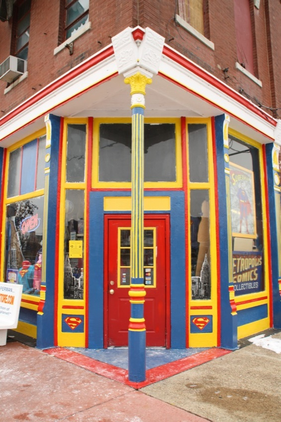 6. The Superman Museum is amazing.