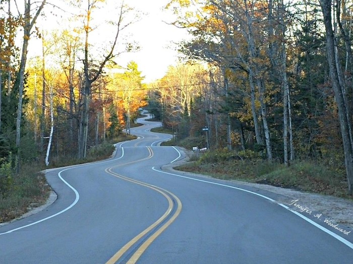 7. The Jens Jensen Winding Road is a sight to see. Drive safely!