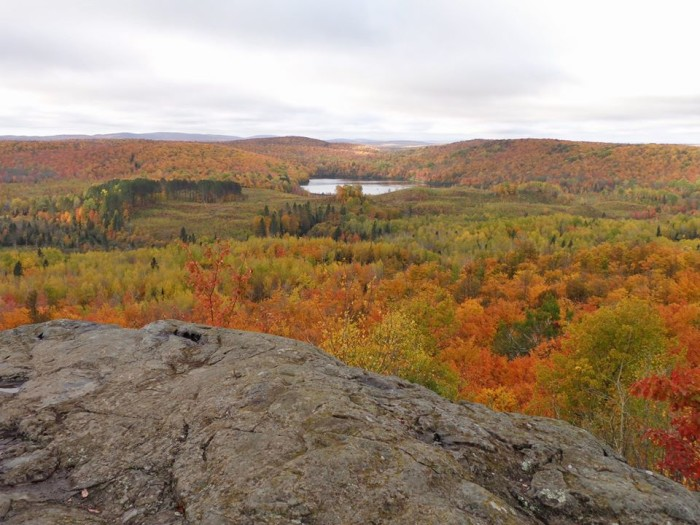9. Corrigan's Lookout is a great place to check out autumn.