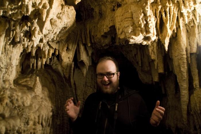 15. Explore caves