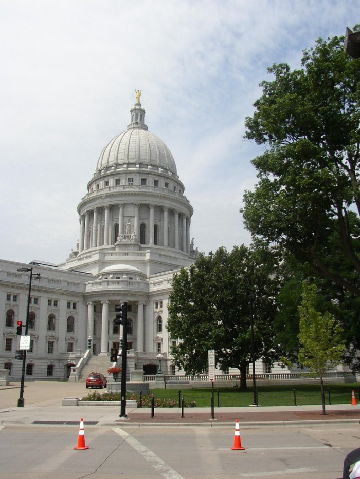 20. Wisconsin Capitol Tour
