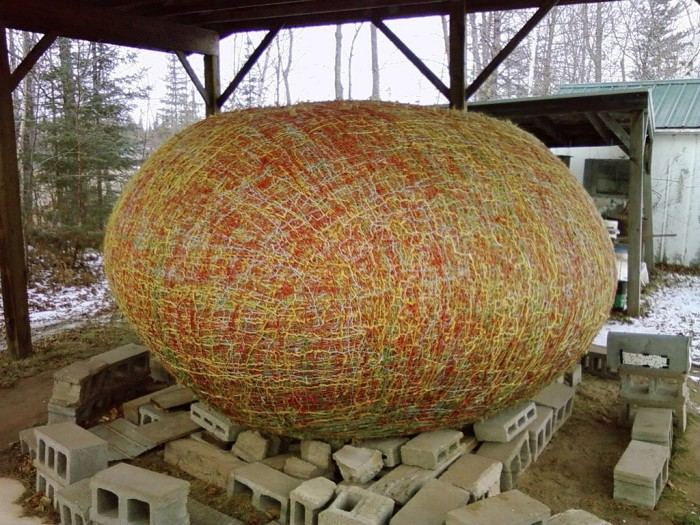 3. JFK's World's Largest Ball of Twine