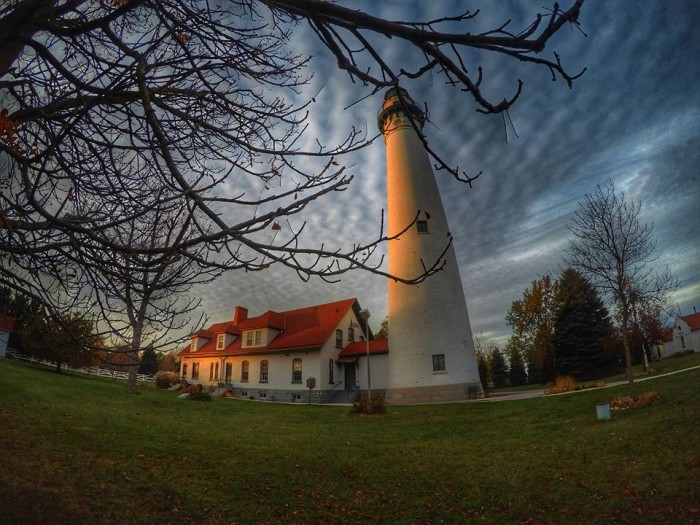 14. This shot of the Windpoint Lighthouse in Racine is postcard-perfect!
